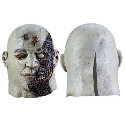 Halloween Zombie Mask Necros Horror Overhead Mask Scary Fancy Dress Party Unisex - Overhead Masks