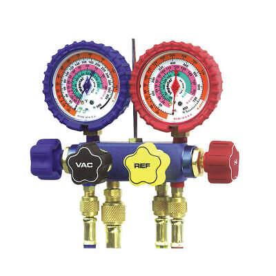 Mechanical Manifold Gauge Set4-valve 644-c