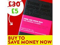 Think and Grow Rich. Modern Classic - FREE DELIVERY - Success Book - Save £15 WHEN YOU BUY TODAY