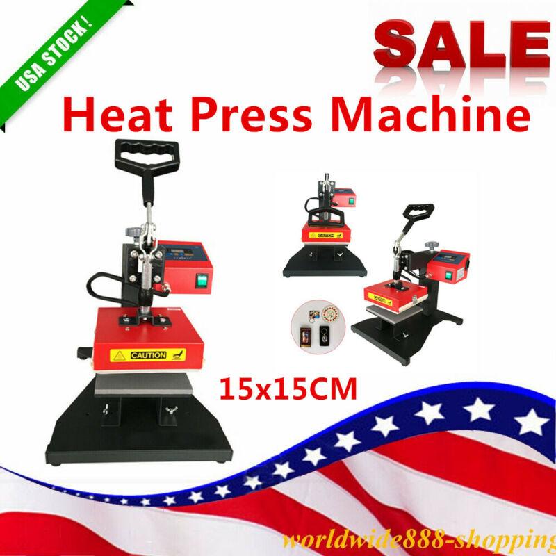 Sale Digital Transfer Heat Press Machine 15X15CM Sublimation T-Shirt Mouse pad