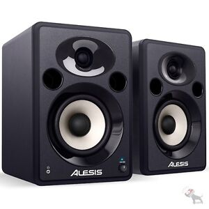Alesis Elevate 5 Powered Desktop Active 40-Watt Studio Speakers Monitors Pair