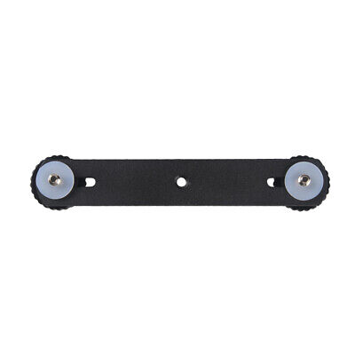 """Andoer Double Flash Bracket 1/4"""" Mounting Screw for Speedlite Video Light K0L1"""