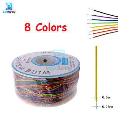 8 Wire Breadboard Jumper Colored Wrapping Cable 280M 30 AWG B-30-1000 Insulation
