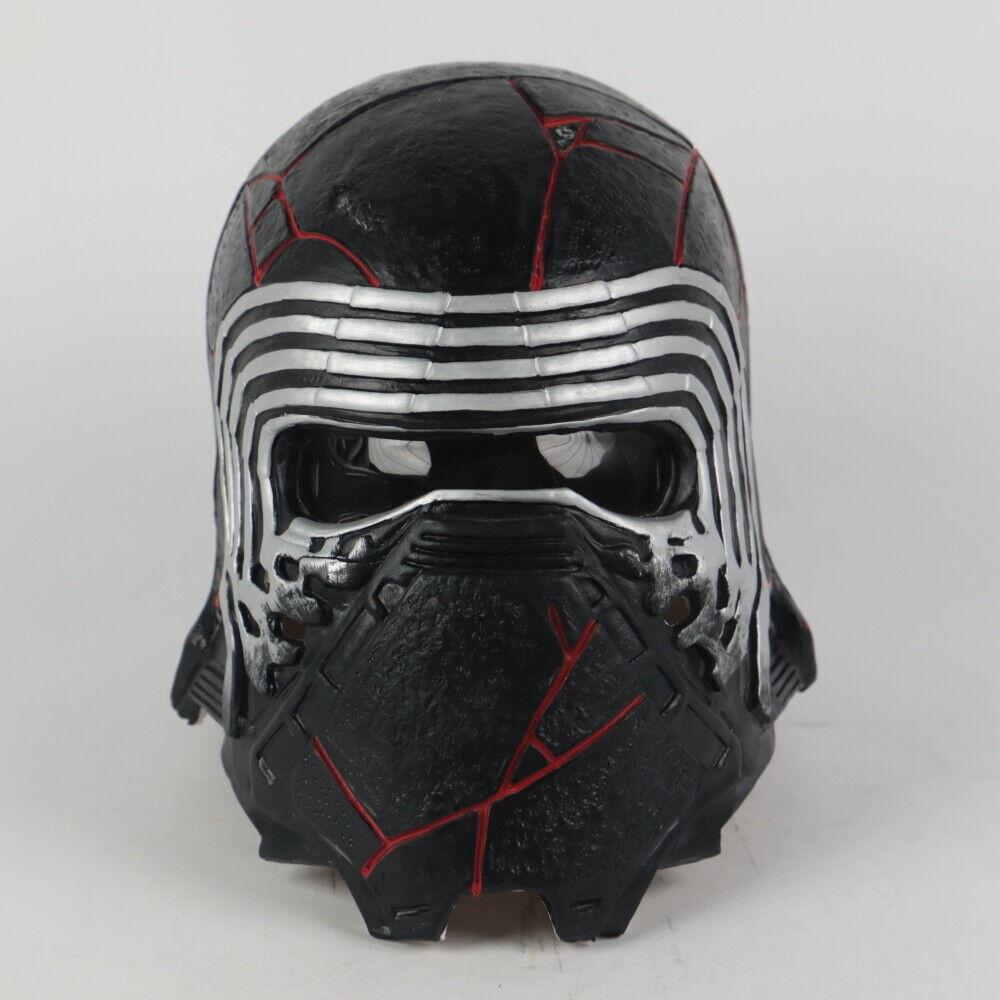 Star Wars 9 Cosplay Kylo Ren Helmet The Rise Of Skywalker Mask Props Soft Pvc Ebay