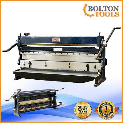 Bolton Tools 52 16 Gauge 3 In 1 Sheet Metal Machine Shear Brake Sbr5216