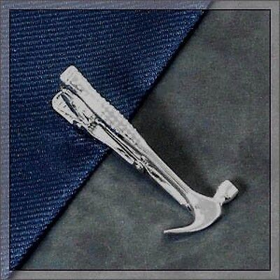 ISHOKUYA Unique Tie Clasps & Tacks Hammer Shape Tie Clip/Pin/Bar Brand New