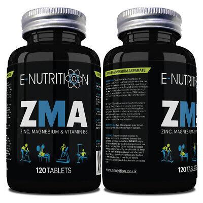 ZMA® 120 Tablets 2 Month Supply | Super High Strength | Zinc Magnesium & B6
