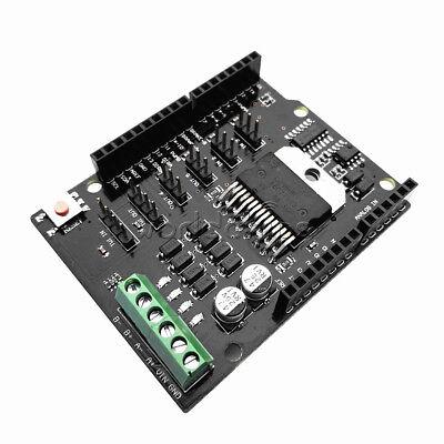 L298nh Two Way 2a H-bridge Dc Motor Driver Shield Module Than L298p For Arduino