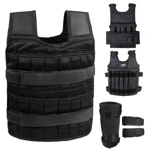 Adjustable Weighted Vests Weight Training Fitness Workout Gy