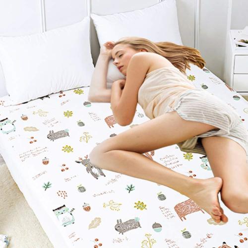 Baby Waterproof Bed Pad Washable Mattress Pad Reusable Under
