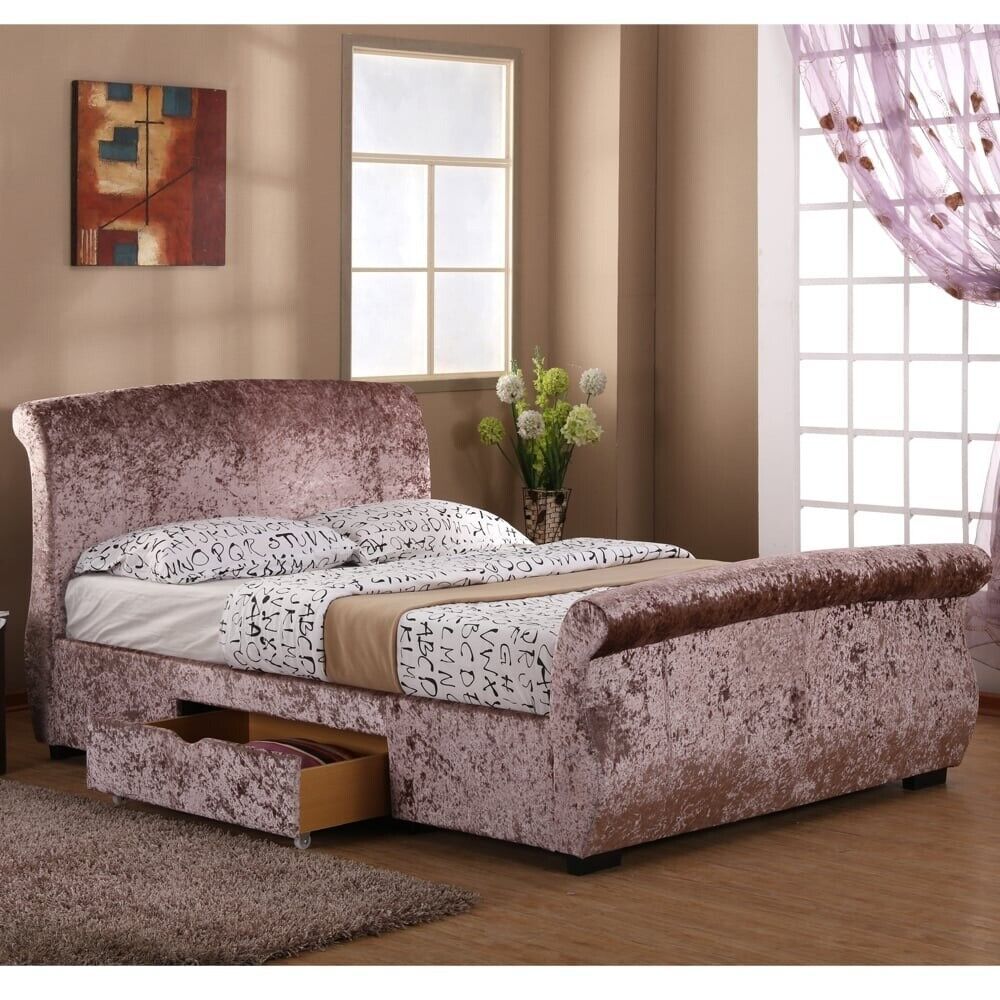 100% authentic 93813 a0957 Rose Gold Flat Packed Regent Single Drawer Bed | in Bradford, West  Yorkshire | Gumtree