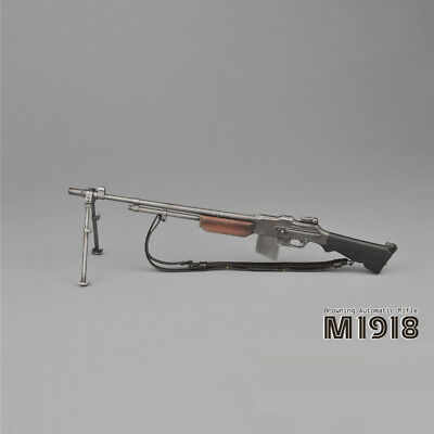 """Used, 1/6 Scale WWII US Army M1918 BAR Browning Automatic Rifle for 12"""" Action figure for sale  China"""