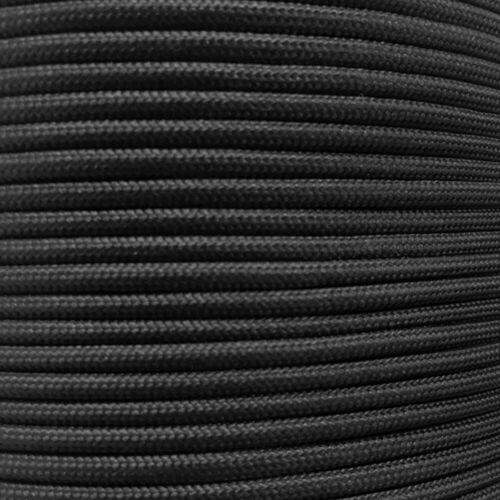 CLEARANCE!!! Bulk Paracord Spools - Black Parachute Cord in 1000
