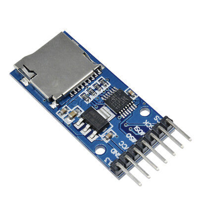 Micro Sd Tf Card Storage Memory Module For Arduino Spi Level Conversion Top