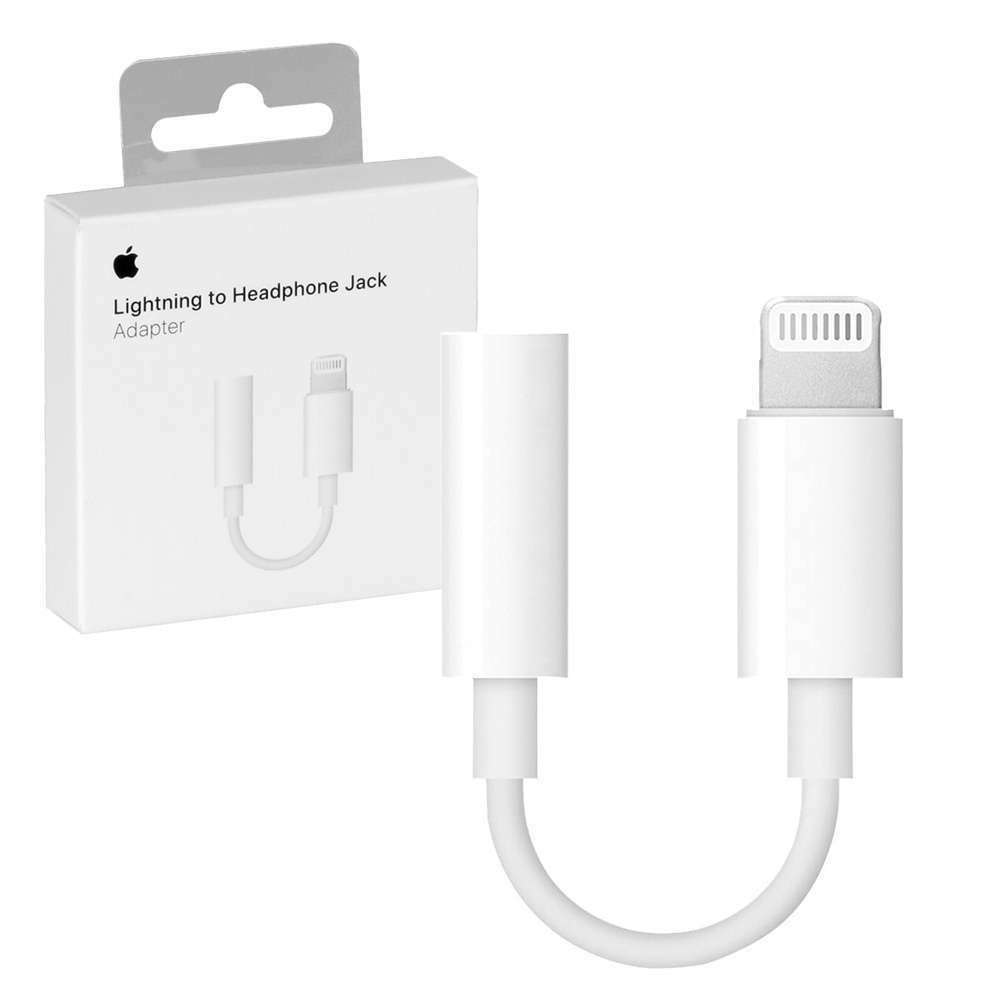 Apple Lightning to 3.5mm Headphone Jack Adapter for iPhone X