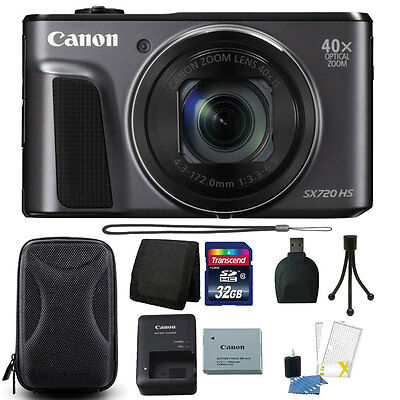 Canon PowerShot SX720 HS 20.3MP 40X Optical Zoom Wifi Digital Camera + Decamp