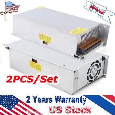 2pcs Dc 12v 50a Amp 110v 220v Power Supply Led Strip Light 12v 220 Ac 110 Sale