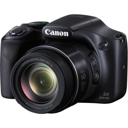 Canon PowerShot SX530 HS Digital Camera 50x Optical Zoom, Full HD Video