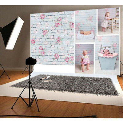 3x5FT Flower Cloth Wall Photography Backdrop Studio Photo Background Prop Decor - Wall Backdrops