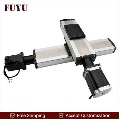 Ball Screw Xy Stage Actuator Cnc Linear Guide Rail Motorized Slide Motion Table