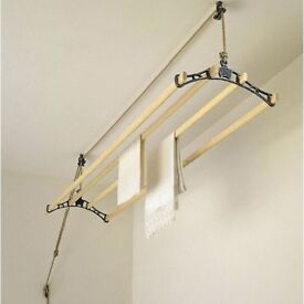 Classic clothes airer pulley