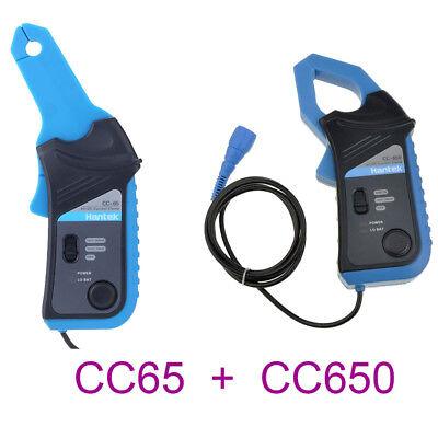 Cc650 Cc65 Acdc Current Clamp Meter Multimeter W Oscilloscope Bnc Connector