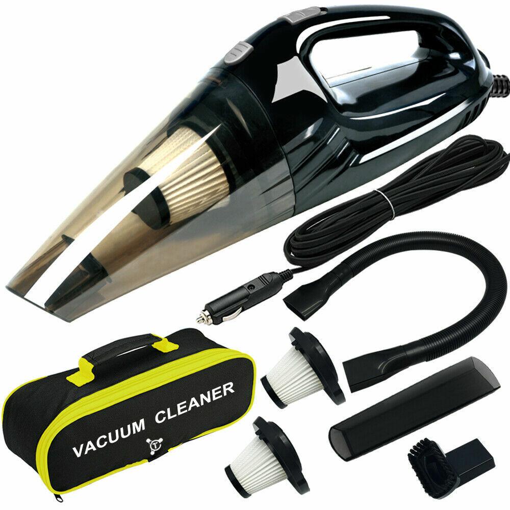 Car Vacuum Cleaner, High Power DC12-Volt Wet & Dry Powerful