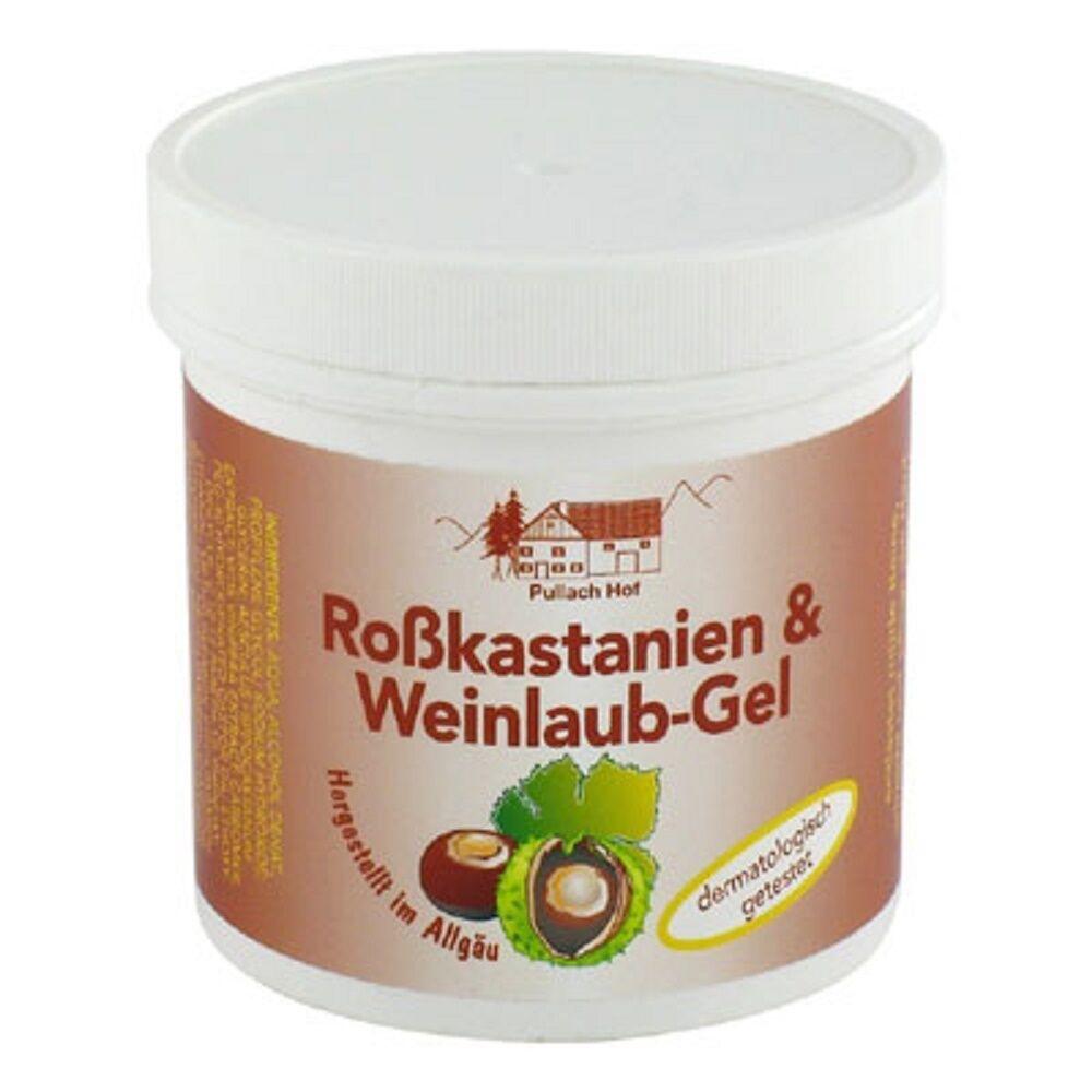 2x Roßkastanien & Weinlaub-Gel 250ml Creme Balsam Lotion aus dem Allgäu #1302