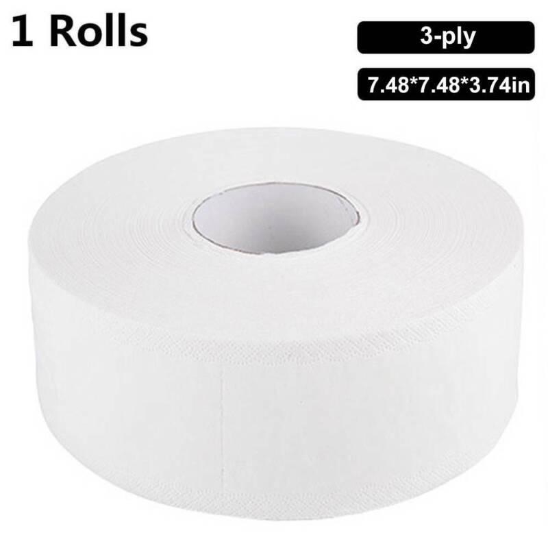 3Ply Jumbo Bath Tissue Paper Bulk Bathroom Rolls White 360 D