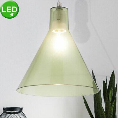 LED Techo Lámpara Colgante Verde Salón Péndulo Reflector Samsung Chip Luz