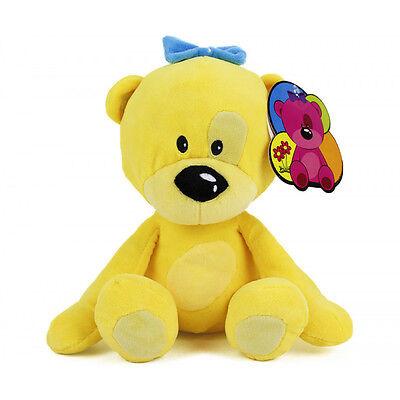 �� TEDDYBÄR Teddy Plüschbär von GOOD LUCKY Plüschtier Schmusetier gelb NEU