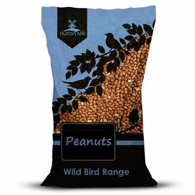 Hutton Mill Peanuts for Wild Birds - Bird Nuts Feed for Garden - 12.5kg