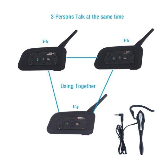 Wireless Blutooth Intercom Interphone BT Communicator for Football Referee Judge