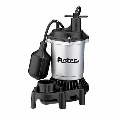Flotec Fpzs50t - 12 Hp Thermoplastic Submersible Sump Pump W Piggyback Teth...