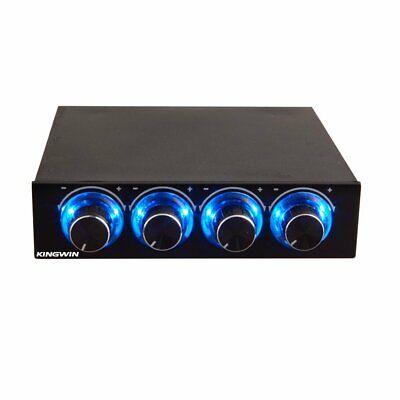 Kingwin FPX-001 Four Channel Turn Knob Multi-Fan Cooling Controller