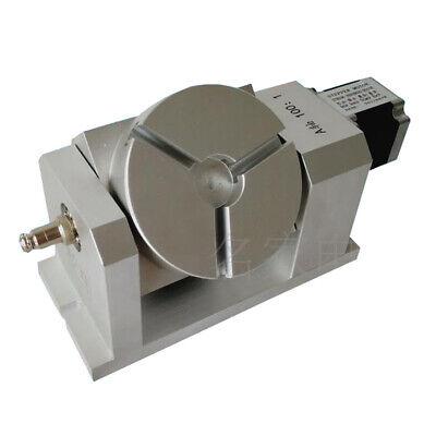 5th Axis 4th A C Axis Harmonic Dividing Head Rotary Indexing Gear Box Engraving