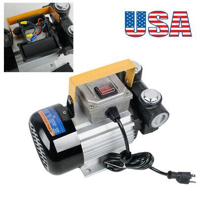 Portable 110v Ac Oil Diesel Fuel Transfer Pump Self Priming Industry Pump Usa