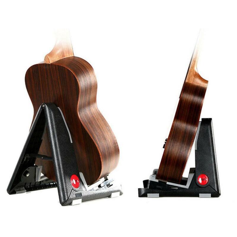 New Aroma AUS02 Tiny Floor Stand Foldable - Ukulele Violin Mandolin Uke Viola