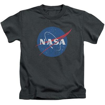 NASA MEATBALL LOGO DISTRESSED Toddler Kids Graphic Tee Shirt 2T 3T 4T 4 5-6 7 Distressed Logo Kids T-shirt