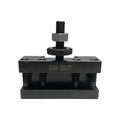 Bxa 34 Oversize 250-202xl Quick Change Turning Facing Lathe Tool Post Holder