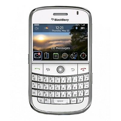 Dummy Mobile Cell Phone WHITE BLACKBERRY 9000 BOLD Display Toy Fake Replica uk