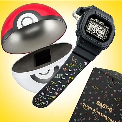 -NEW- Casio Baby G Limited Edition Pokemon Watch BGD560PKC-1
