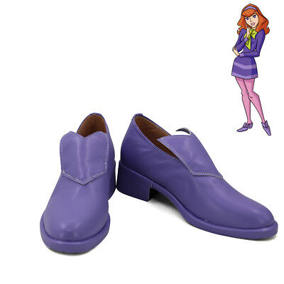 Scooby-Doo Daphne Blake Cosplay Shoes Women Boots  (Daphne Scooby Doo Shoes)