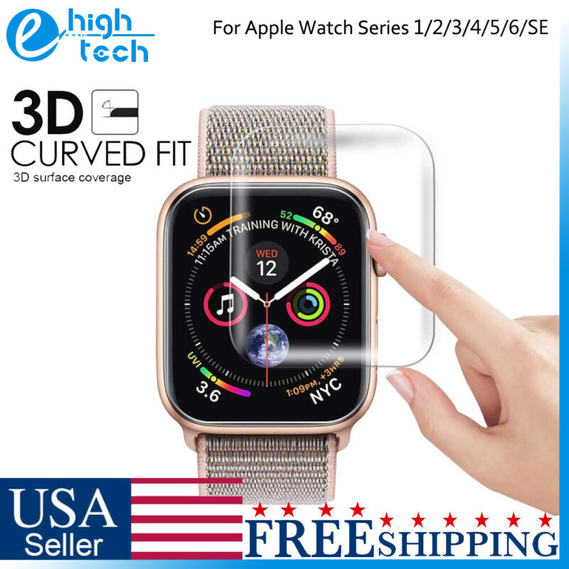 For Apple Watch Series 1/2/3/4/5/6/SE Shockproof Tempered Glass Screen Protector