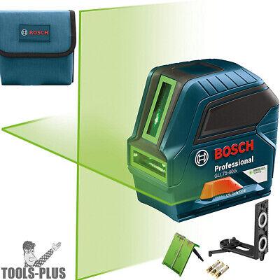 Bosch Gll75-40g 75 Green-beam Self-leveling Cross-line Laser