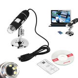 2MP 1000x 8 LED USB 2.0 Mini Digital Microscope Endoscope Zoom Camera Magnifier