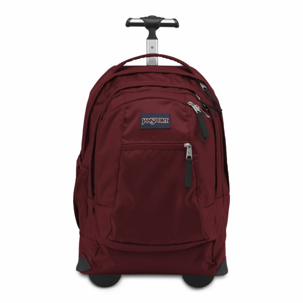 JanSport Driver 8 Rolling Backpack Viking Red