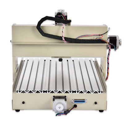 400w Cnc Router Engraver Machine Carving Woodworking Pcb Mill Drill 4 Axis 3040