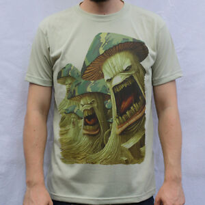 Army of mushrooms t shirt design infected mushroom for Army design shirts online