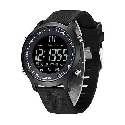Men Sports LED Digital Smart Watch Bluetooth Black Waterproof Smart Wristwatch